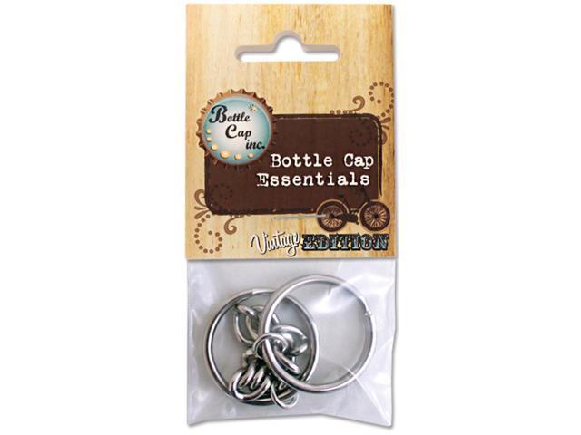 Bottle Cap Inc Vintage Key Chains 2/Pkg-Curb