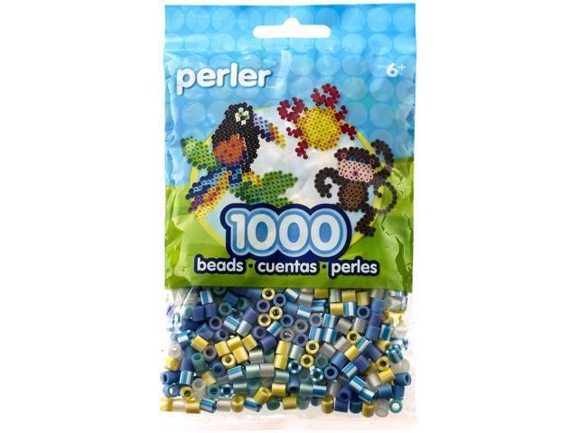 Perler Fun Fusion Beads 1000/Pkg-Winter Frost