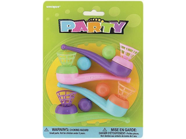 Party Favors-Blow Pipes 4/Pkg