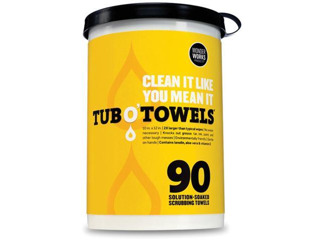 Federal Process TW90 Tub O' Towels 10 in. x 12 in. 90-Pkg
