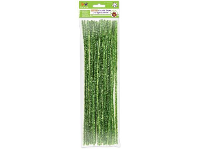 Tinsel Chenille Stems 6mmX12