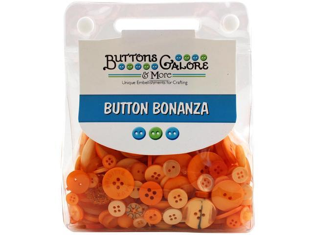 Buttons Galore Button Bonanza-Tangerine