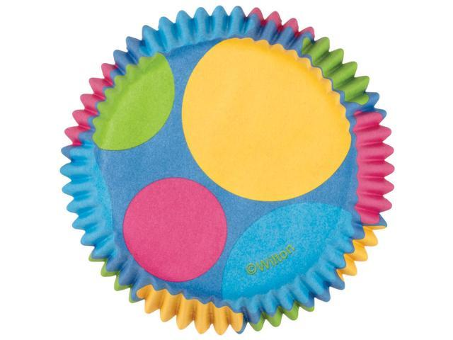 Mini Baking Cups-Retro Dots 100/Pkg