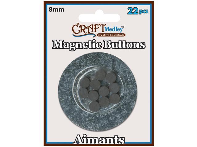 Magnetic Buttons-8mm 22/Pkg