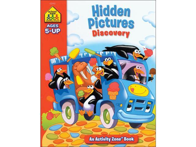 Activity Workbook-Hidden Pictures Discovery - Ages 5+