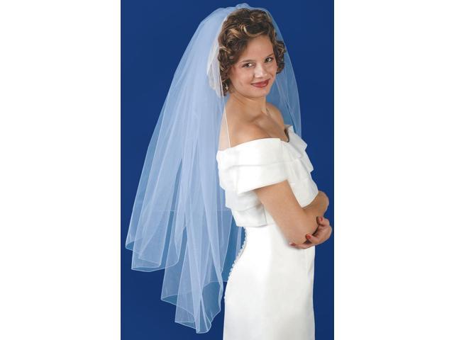 Double Layer Bridal Veil 31