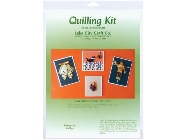 Quilling Kit-Fall Greeting Card