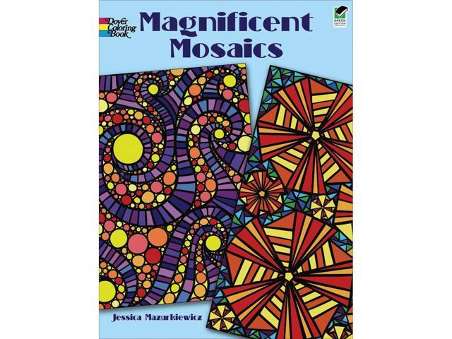 Dover Publications-Magnificent Mosaics Coloring Book
