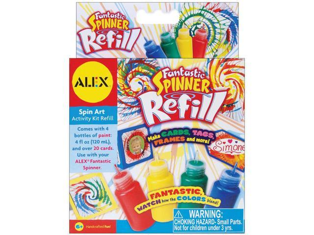 (NEW) Alex Toys Fantastic Spinner Refill, 1.0-Ounce, 4 per Package