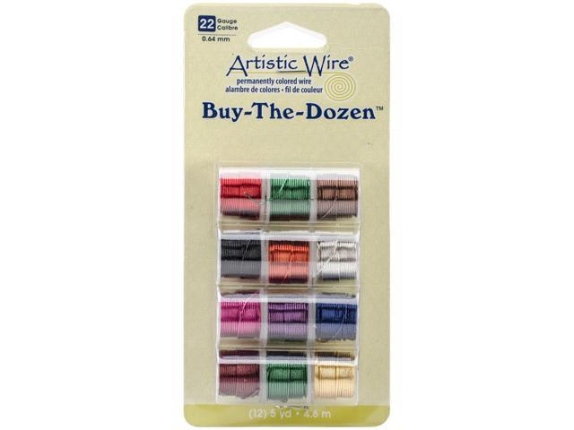 Artistic Wire Buy-The-Dozen 3yd 12/Pkg-22 Gauge