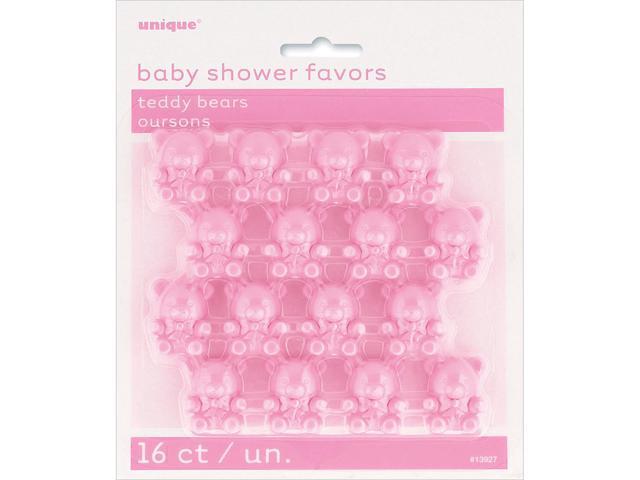 Party Favors 16/Pkg-Pink Teddy Bear