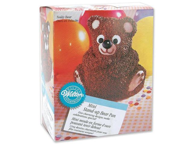 Stand-Up Mini Cake Pan Set-Bear 6.2