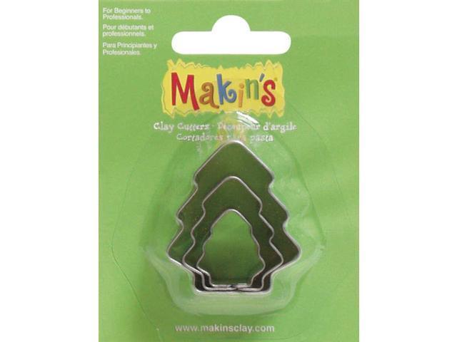 Makin's Clay Cutters 3/Pkg-Tree