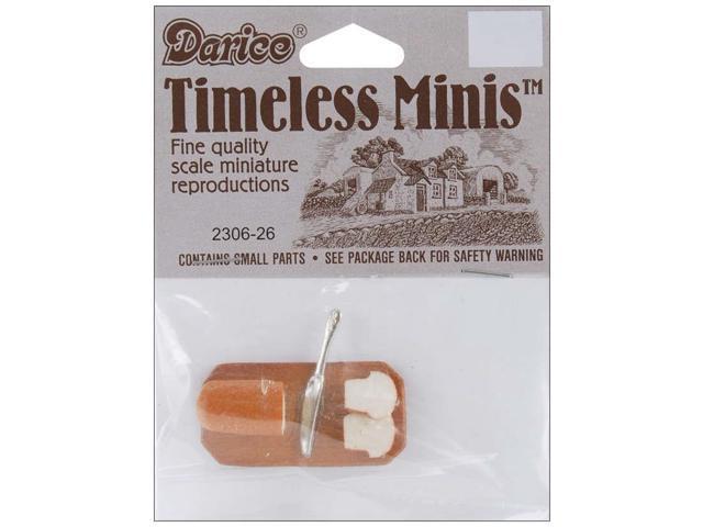 Timeless Miniatures-Bread & Knife