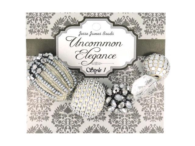Uncommon Elegance Beads 5/Pkg-Style 1