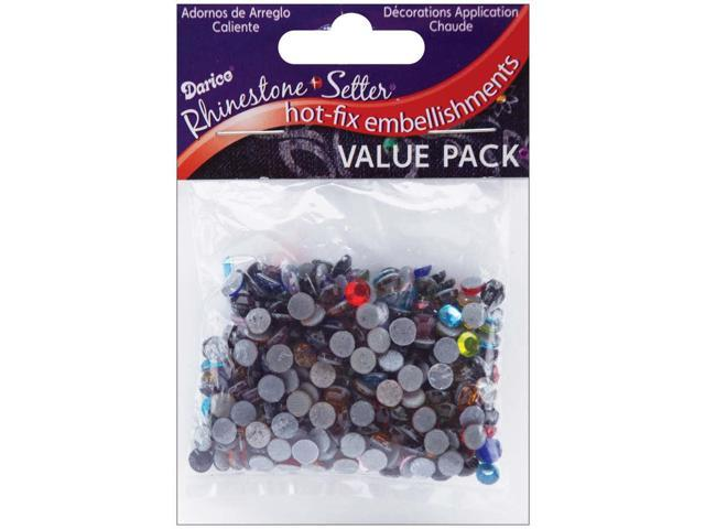Rhinestone Setter Hot-Fix Glass Stones 5mm 400/Pkg-Multi