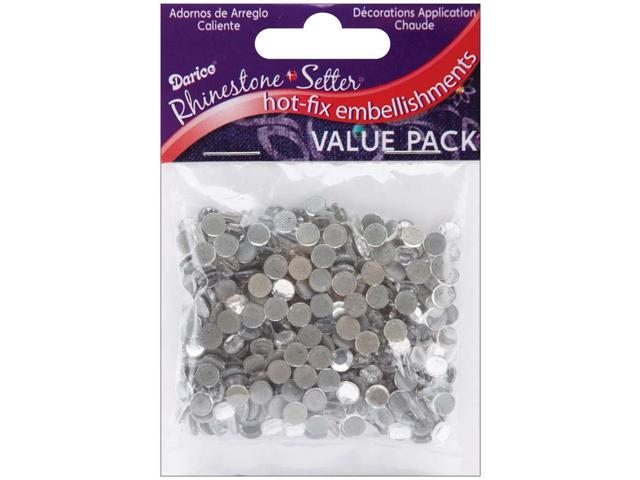 Rhinestone Setter Hot-Fix Glass Stones 5mm 400/Pkg-Crystal