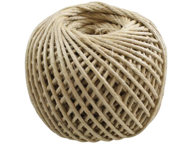 Jute Rope 4 Ply 100 Yards/Spool-Natural