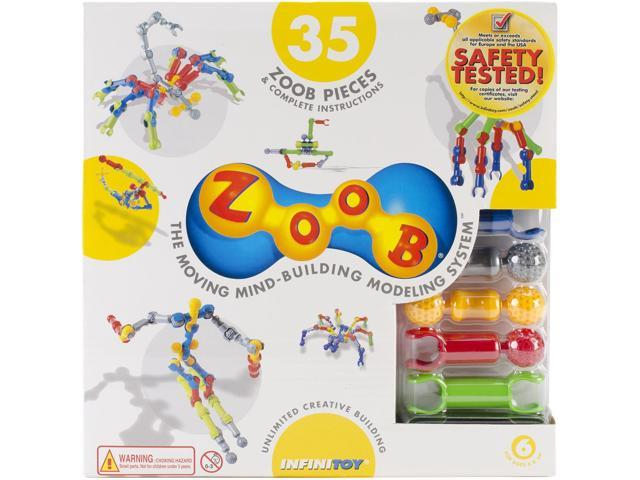 ZOOB Pieces 35/Pkg-Primary Colors