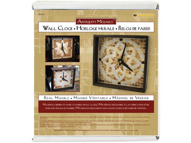 Antiquity Mosaics Clock Kit-