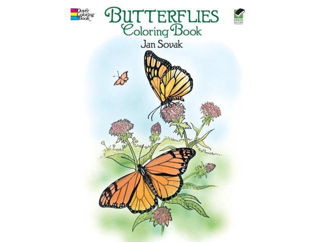 Dover Publications-Butterflies Coloring Book