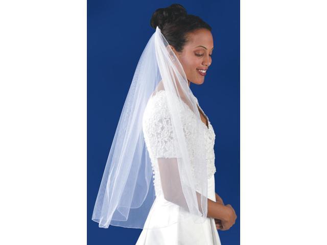 Single Layer Bridal Veil 31