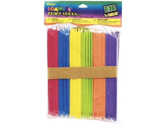 Foam Multicolor Craft Sticks-6