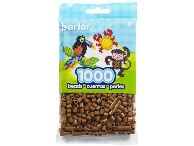 Perler Fun Fusion Beads 1000/Pkg-Light Brown