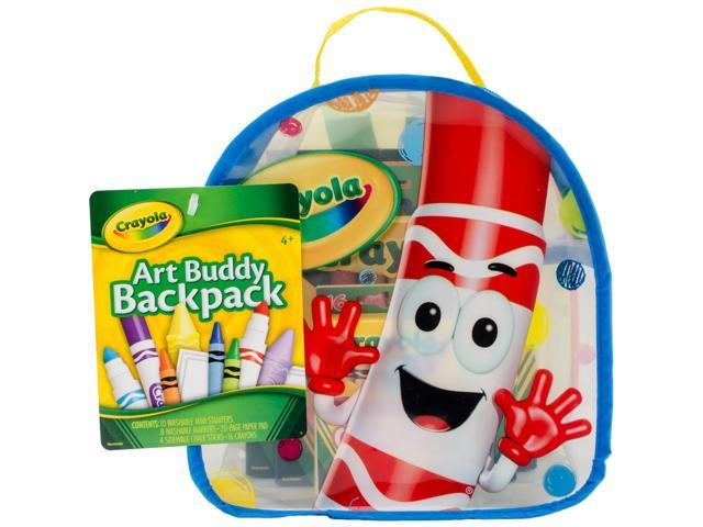 Alvin 04-5350 Crayola Art Buddy Backpack