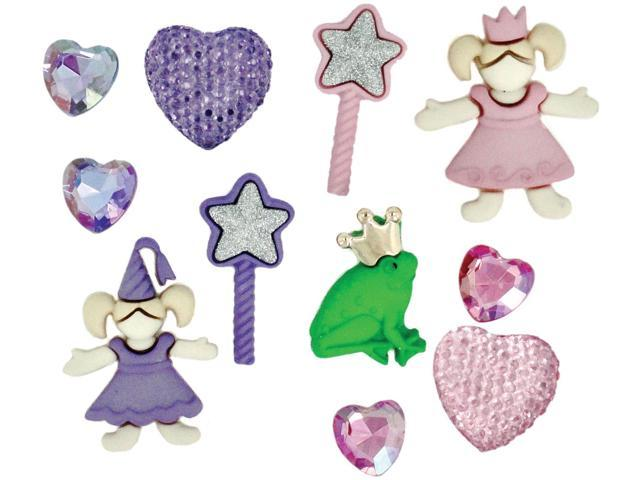 Dress It Up Embellishments-Little Princess