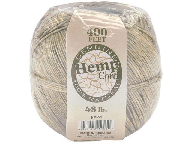 Hemp Cord 48lb 400'-Natural