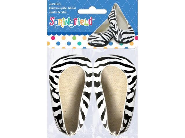 Springfield Collection Ballet Flats-Zebra
