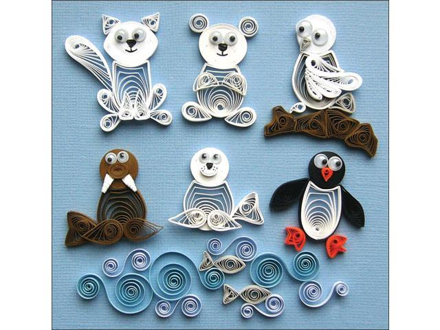 Quilling Kit-Arctic Buddies