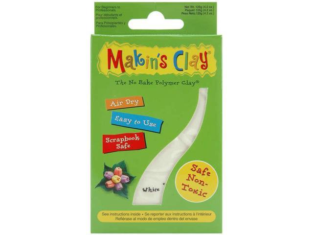 Makin's Clay Air-dry Clay 120g-White