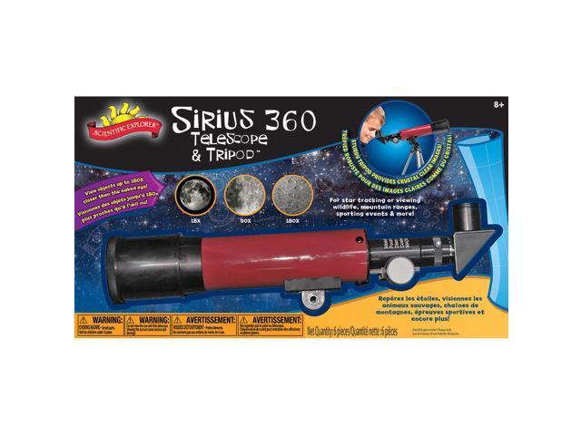 Scientific Explorers Sirius 360 Telescope & Tripod-