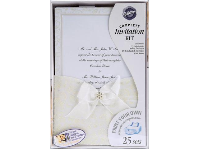 Invitation Kit Makes 25-Happy Day