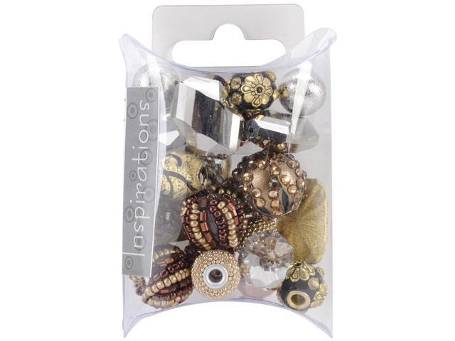 Inspirations Beads 50 Grams-Metallix