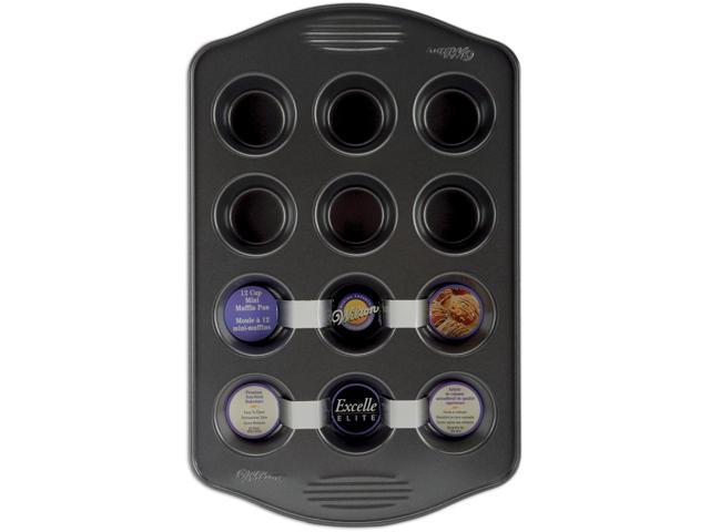 Excelle Elite Mini Muffin Pan-12 Cavity 2