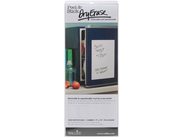 Wallies Peel & Stick Dry-Erase Panels 9