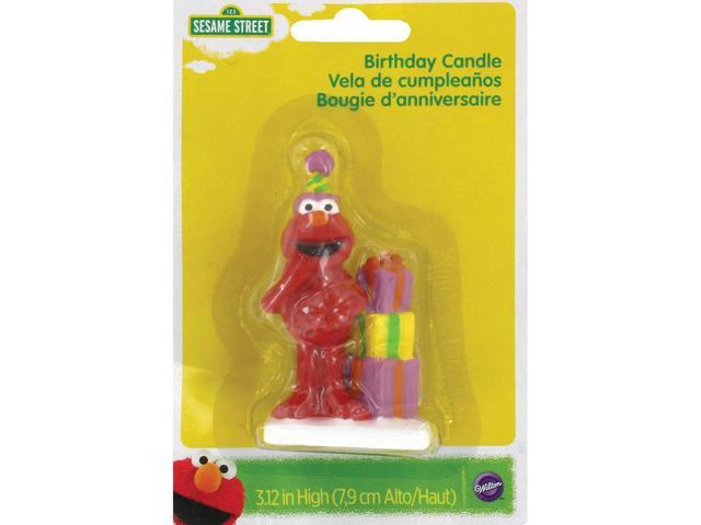 Wilton ELMO BIRTHDAY CANDLE Sesame Street Party Cake