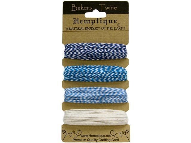 Hemptique Cotton Bakers Twine Card Set 2 Ply 410 Feet/Pkg-Berrylicious