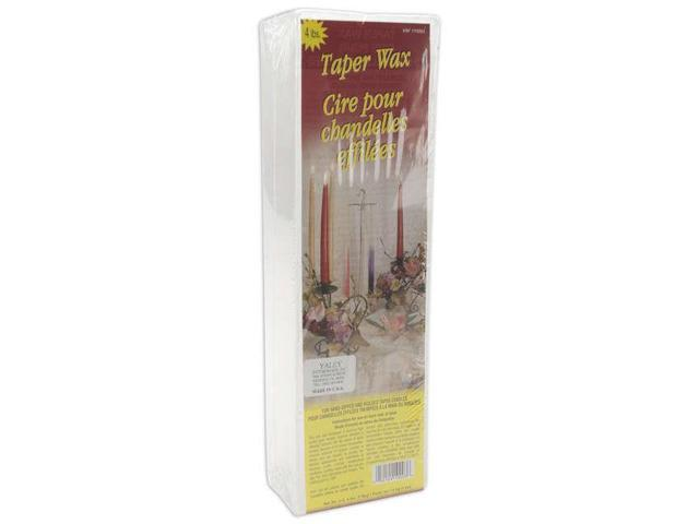 Taper Candle Wax 4lb Block-White