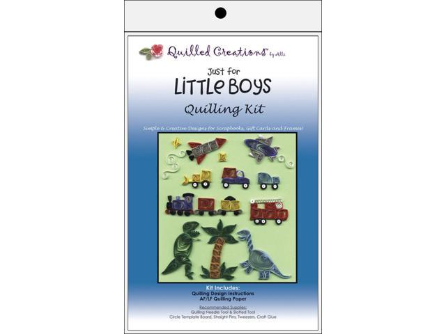 Quilling Kit-Just for Little Boys