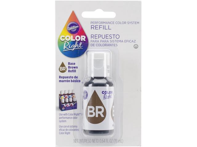 Color Right Performance Color System Refill .7oz-Brown