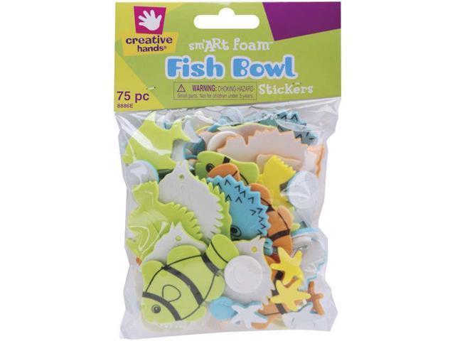 Foam Stickers 75/Pkg-Fish Bowl