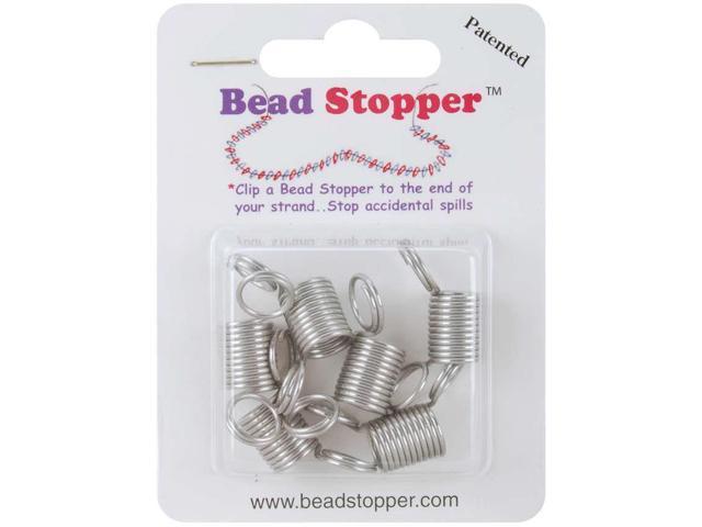 Bead Stoppers 6/Pkg-Metal