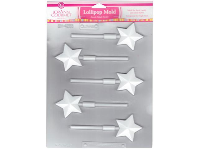 Lollipop Sheet Mold-Star 5 Cavity (1 Design)