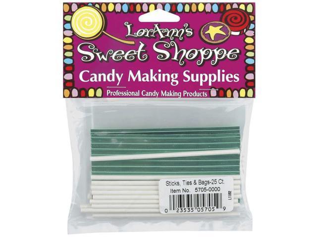 Sweet Shoppe Sticks, Ties & Bags 25/Pkg-