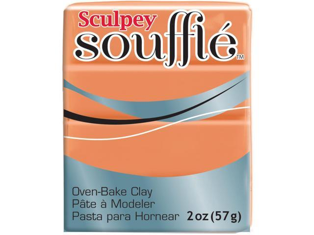 Sculpey Souffle Clay 2oz-Pumpkin