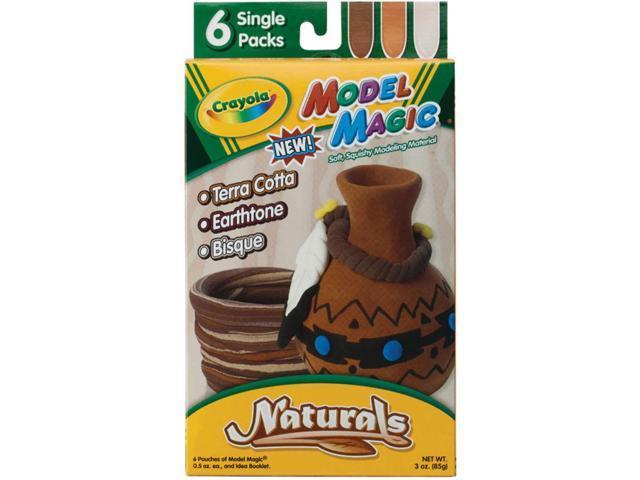 Crayola Model Magic .5oz 6/Pkg-Naturals
